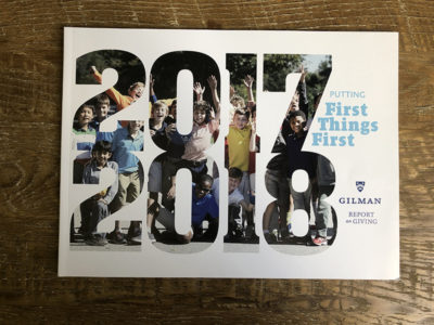 Gilman Annual Report 2018