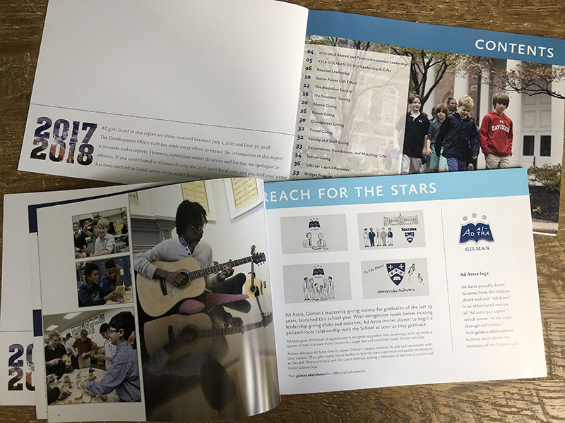 Gilman Annual Report 2018