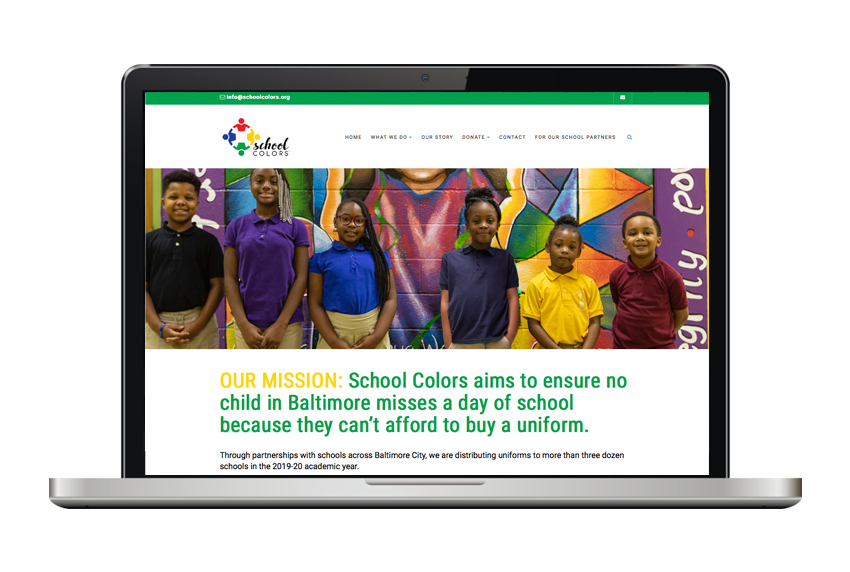 School Colors website