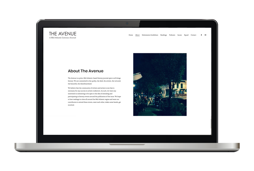 The Avenue Journal - website
