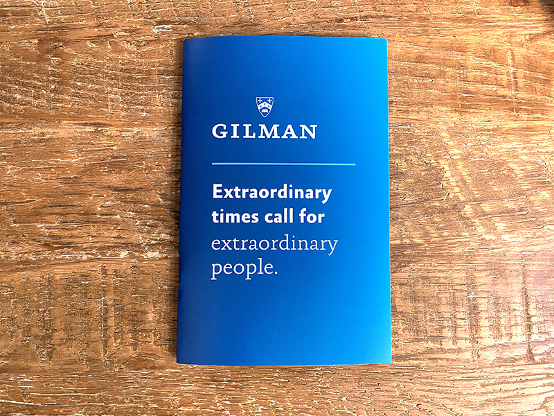 "Gilman ""Extraordinary"""