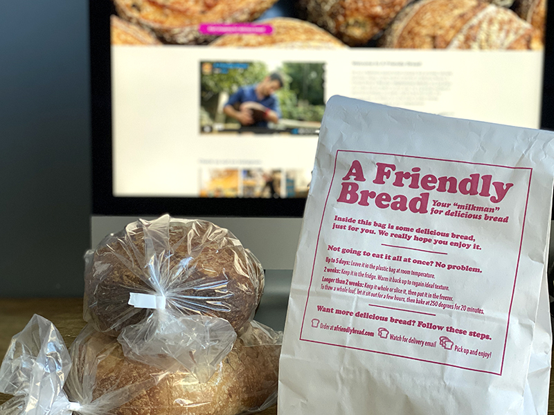 A Friendly Bread bag