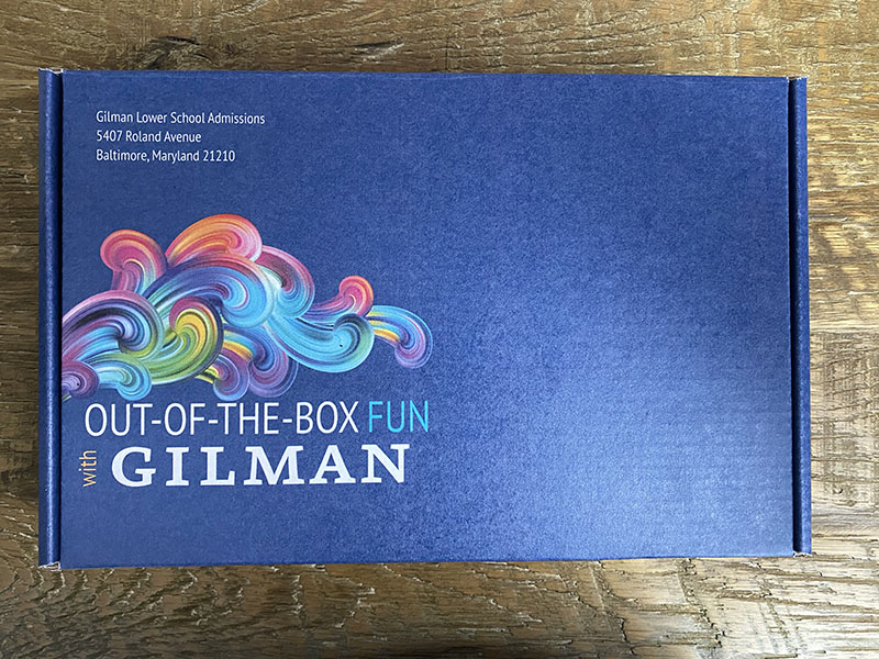 Gilman Out-of-the-Box Fun